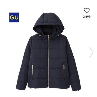 GU - 大人気完売品♡GU 中綿ダウンジャケット ネイビー L