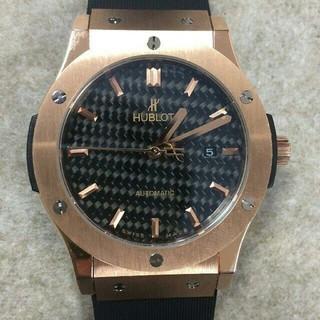 ウブロ(HUBLOT)のウブロ HUBLOT 腕時計 メンズ ビッグバン 自動巻き ゴールド (腕時計(アナログ))