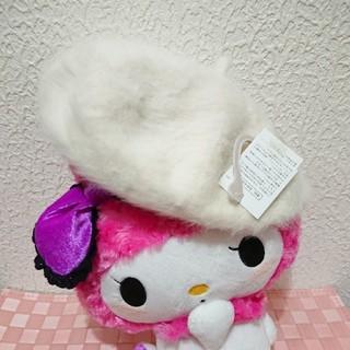 シマムラ(しまむら)の新品 しまむら ファー ベレー帽♥️夢展望(ハンチング/ベレー帽)
