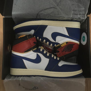 ナイキ(NIKE)のNIKE AIR JORDAN 1 RETRO HI NRG/UNION US9(スニーカー)