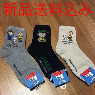 ディズニー(Disney)の韓国 レディース靴下 3足(ソックス)