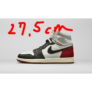 ナイキ(NIKE)のNike Union AIR JORDAN 1 RETRO HI 27.5 正規(スニーカー)