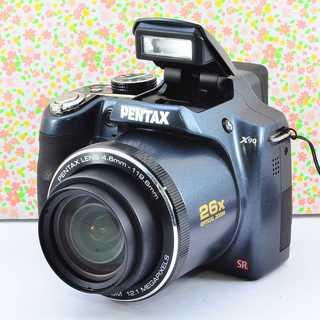 ✨Wifi &小ぶりな本格レンズ付きカメラ✨ペンタックス X90(コンパクトデジタルカメラ)
