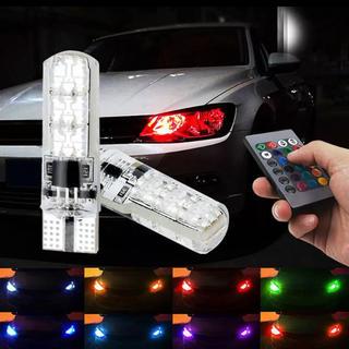 T10 T16 LED RGB リモコン 色選択 ポジション球 ヘッドライト(汎用パーツ)