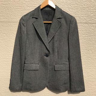 アイシービー(ICB)のiCB セットアップ スーツ ジャケット スカート カシミヤ混 グレー 7(スーツ)