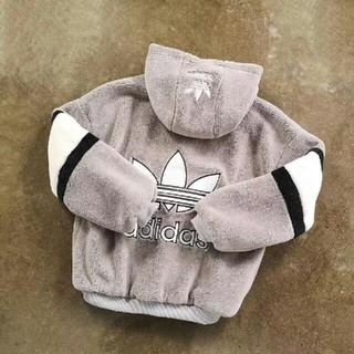 アディダス(adidas)のadidas originals 新作 アディダス ブルゾン ボア ジャケット(パーカー)