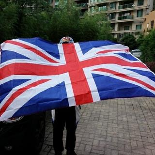 クール!イギリス★ユニオンジャック♪大きな国旗★インテリアやイベントに!(その他)