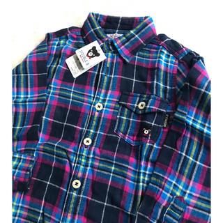 ダブルビー(DOUBLE.B)のダブルB 薄手 シャツ 110 ミキハウス(Tシャツ/カットソー)