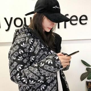 アディダス(adidas)のadidas 新品 アディダス ダウン 両面着れる 冬服男女通用(パーカー)