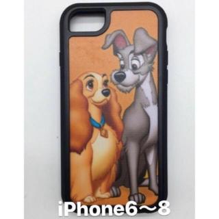 ディズニー(Disney)の値下げ可 上海ディズニー限定☆わんわん物語iPhoneケース(iPhoneケース)