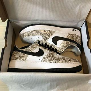 ナイキ(NIKE)のNIKE AIR FORCE 1 cocoa snake 白蛇新品 27.5CM(スニーカー)