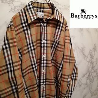 BURBERRY - 【美品】90s Burberrys nova check shirt