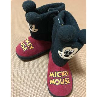 ディズニー(Disney)のディズニー ミッキーブーツ 13cm(ブーツ)