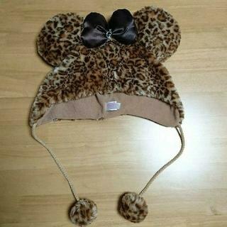 ディズニー(Disney)の☆Disney  ディズニー ★ もこもこ ファンキャップ  帽子(キャップ)