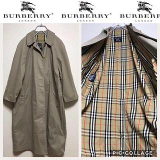 バーバリー(BURBERRY)のb7 バーバリー  プローサム  ステンカラーコート  美品(ステンカラーコート)