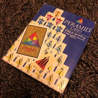 〈希少品・送料込〉ピラミッドカードゲーム(トランプ/UNO)