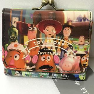 Disney - トイストーリー★折財布★コンパクト