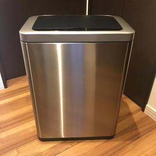 フランフラン(Francfranc)の自動開閉ゴミ箱47L ごみ箱 センサー付ステンレスゴミ箱  モダン おしゃれ(ごみ箱)
