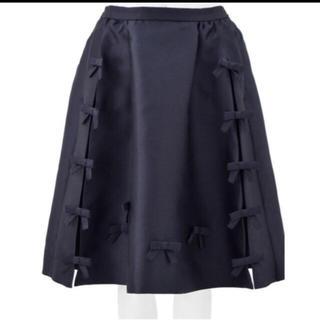 Chesty - チェスティ リボン スカート ネイビー 0