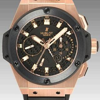 ウブロキングパワー パワーリザーブ ゴールド 709.OM.1780.RX腕時計