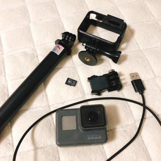 ゴープロ(GoPro)のGoProHERO5 自撮り棒(コンパクトデジタルカメラ)