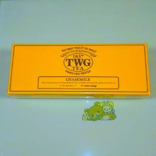 TWG TEA カモミール 15袋入り(茶)
