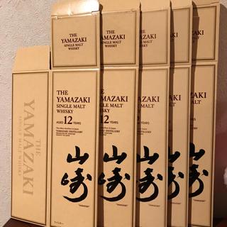 サントリー山崎12年化粧箱5枚セット