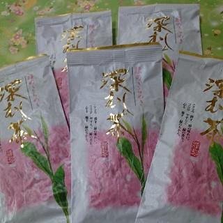 静岡県産  深むし茶 100㌘5袋(茶)