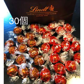 リンツ(Lindt)のリンドール  チョコレート 30個(菓子/デザート)
