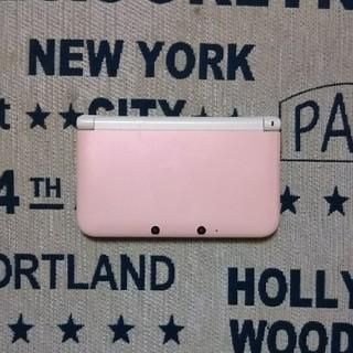 ニンテンドウ(任天堂)の任天堂3DS(LL) (ピンク&ホワイト)(携帯用ゲーム本体)