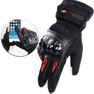 【全サイズ有】バイク グローブ 手袋 ウインター 冬 冬用 防寒(装備/装具)
