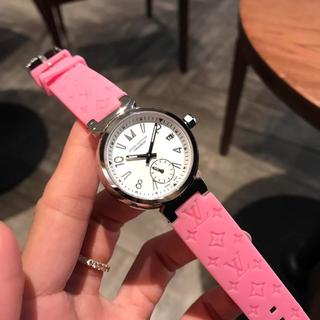 LOUIS VUITTON - ルイヴィトン LOUISVUITTON 腕時計 レディース ピンク