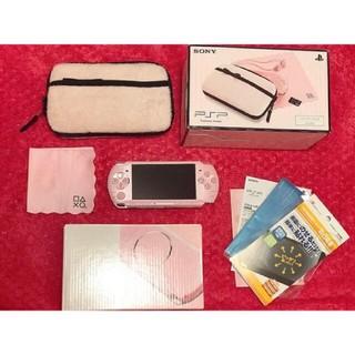 PSP 3000ZP ブロッサムピンク バリューパック(携帯用ゲーム本体)