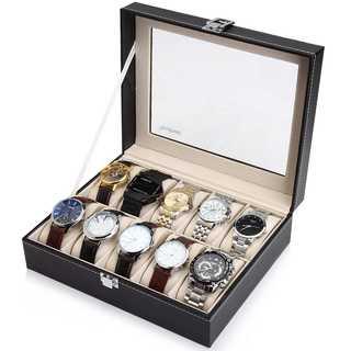 送料無料!腕時計収納ケース 腕時計収納ボックス 10本収納 プレゼントにも♪