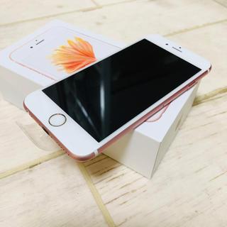アップル(Apple)の[バッテリー交換済み]iPhone6s 64GB ローズゴールド(スマートフォン本体)