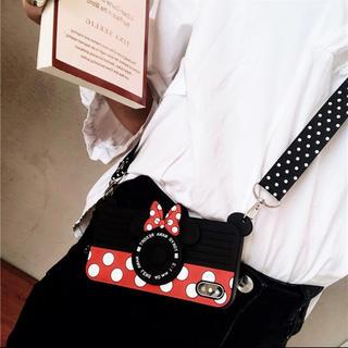 ディズニー(Disney)のミニー iPhone7.8ケース カメラ (iPhoneケース)
