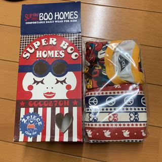 スーパーブーホームズ(SUPER BOO HOMES)の新品未使用箱付き BOO HOMES タンクトップ 2枚セット 120(その他)