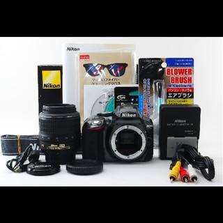 ニコン(Nikon)の★超高画質でWi-Fi搭載★Nikon ニコン D5300 レンズセット♪(デジタル一眼)