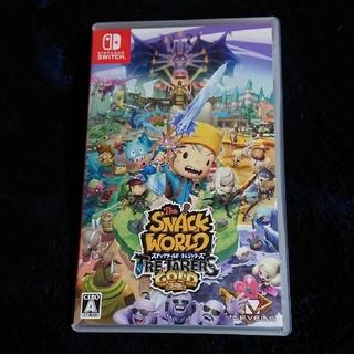 Nintendo Switch - スナックワールド トレジャラーズ ゴールド