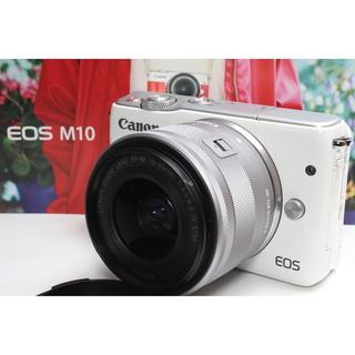 キヤノン(Canon)の❤️ワンタッチでスマホへシェア❤️Canon EOS M10 レンズキット(ミラーレス一眼)