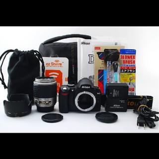 ニコン(Nikon)のスマホにラクラク転送♪大好評入門機♪ニコン D40 レンズセット♪(デジタル一眼)
