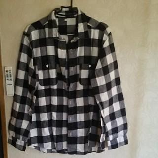 ジーユー(GU)のGUブロックチェックシャツ(シャツ)