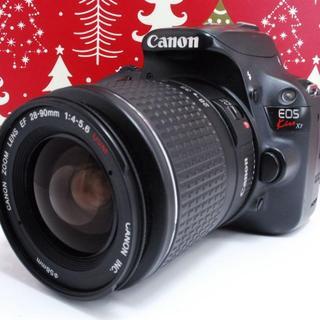 キヤノン(Canon)の★可愛いフォルムで軽量★Canon EOS Kiss X7 (デジタル一眼)