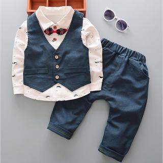 子供服  ネイビー  セットアップ  衣装  結婚式  イベント(ドレス/フォーマル)