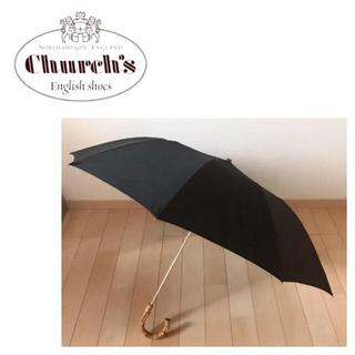 チャーチ(Church's)のチャーチ☆折りたたみ傘☆傘☆黒☆ Church's(傘)