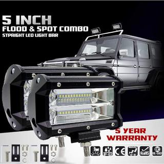 2個セット☆作業灯 LED ワークライト 72w 5インチ 12v-24v兼用