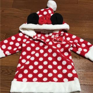 Disney - サンタミニーちゃんトレーナー♡80cm