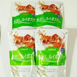 日東紅茶 水出しルイボスティー 500ミリリットル用 4袋(茶)
