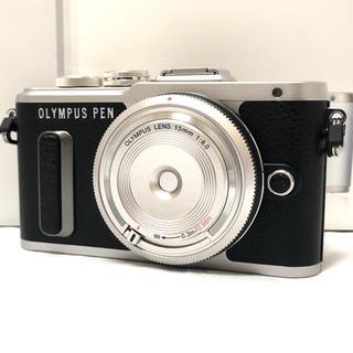 オリンパス(OLYMPUS)の新品メーカー保証★OLYMPUS  PEN E- PL8 ブラック レンズキット(ミラーレス一眼)