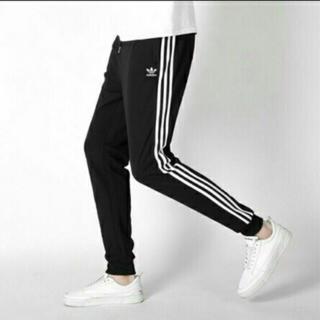 adidas - adidas トラックパンツ スキニー 【男女兼用】